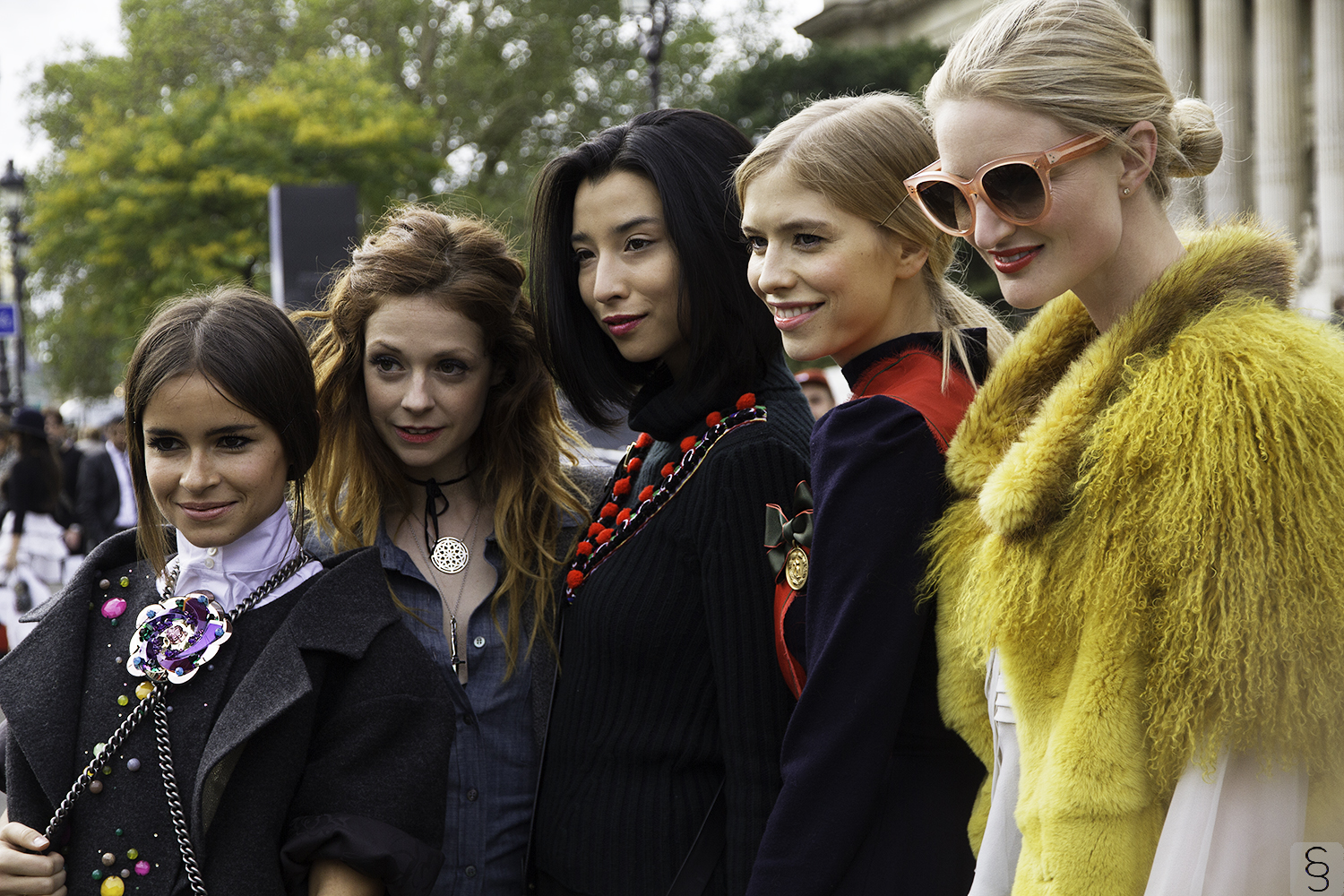 The Snapshots // In Fraganti... The Girl Club: Miroslava Duma, Stephanie LaCava, Lily Kwong, Elena Perminova & Candice Lake
